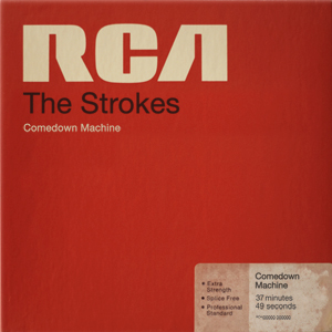 """The Strokes embrace falsetto, synth dance music, and, apparently, the 1980's in their new album, Comedown Machine."" - Esquire, April 2013."